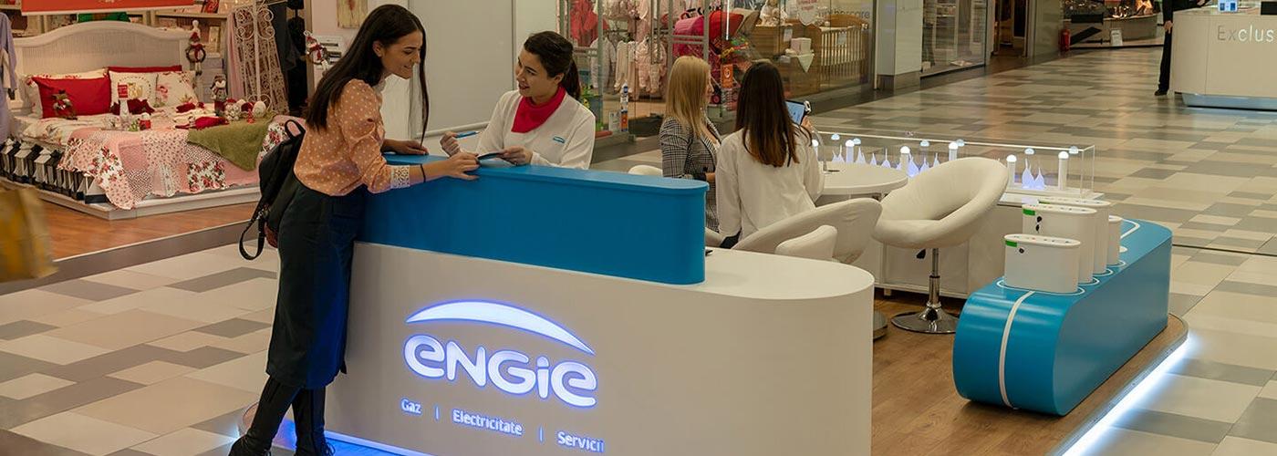 ENGIE este acum și în centrul comercial PLAZA ROMÂNIA