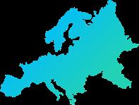 stații instalate și gestionate în Europa