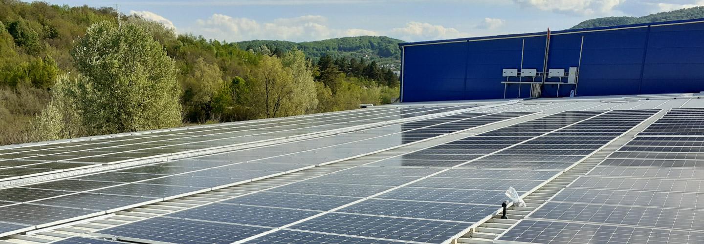 Construirea centralei fotovoltaice pentru compania Swisscaps