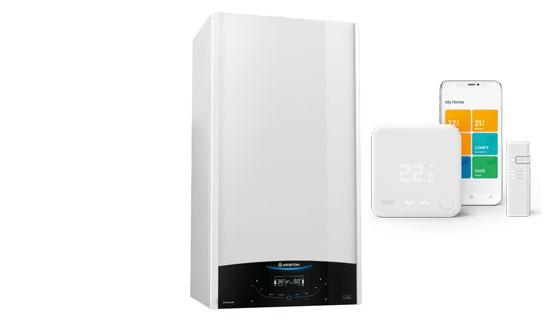 Ariston Genus OnePutere: 24 kW sau 30 kWGaranție 5 ani