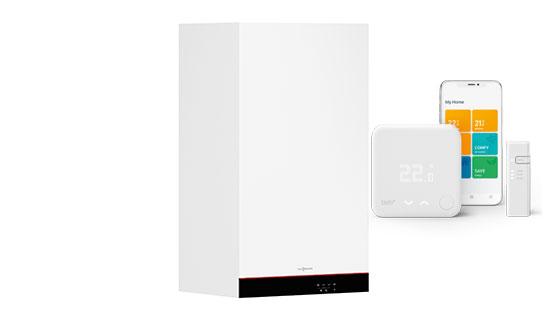 Viessmann Vitodens 050-WPutere: 19 kW sau 25 kWGaranție 5 ani